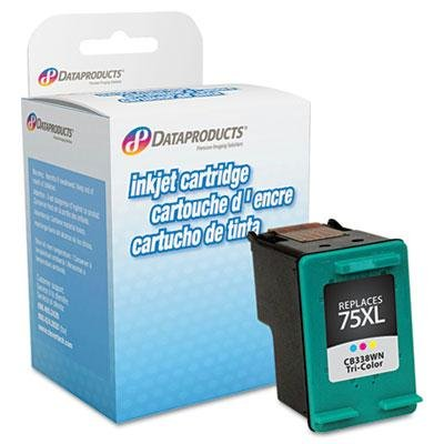 Dataproducts Imaging Supplies (Dataproducts - 2 Pack - Remanufactured Cb338wn (75Xl) High-Yield Ink 520 Page-Yield Tri-Color