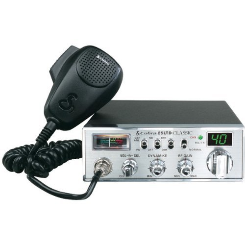 40-CHANNEL CLASSIC CB RADIO WITH DYNAMIKE GAIN CONTROL (Catalog Category: TWO-WAY RADIOS/SCANNERS / OUTDOOR PRODUCTS)