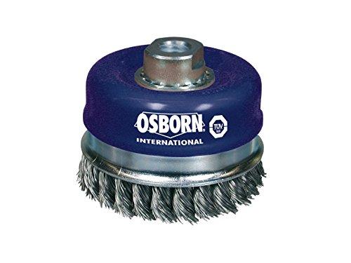 20000 RPM Osborn 26399 High Speed Small Grinder Stringer Bead Wheel Brush Stainless Steel Bristle 4 Diameter
