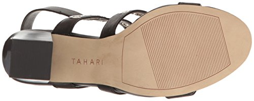 Tahari Women's TA-Advice Heeled Sandal Black hbVhabHRT2