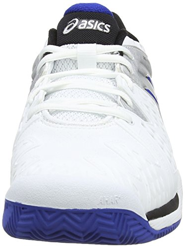 6 Resolution Blue Tennis Gel White Clay Silver 142 Blanc Asics Hommes gUnqCwOpxT