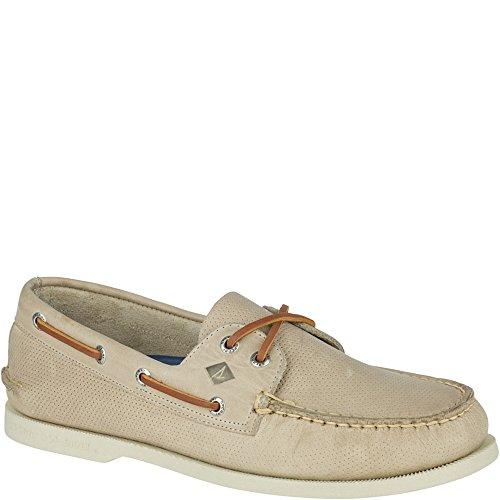 Sperry Top-Sider A/O 2 Eye, Men's Boat Shoes, Brown (Sahara), 8 UK (42 EU)