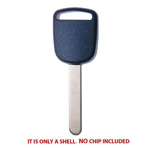 High Security Key - Uncut Non Chip Transponder Blank Key Case Shell- HO01 for For Honda