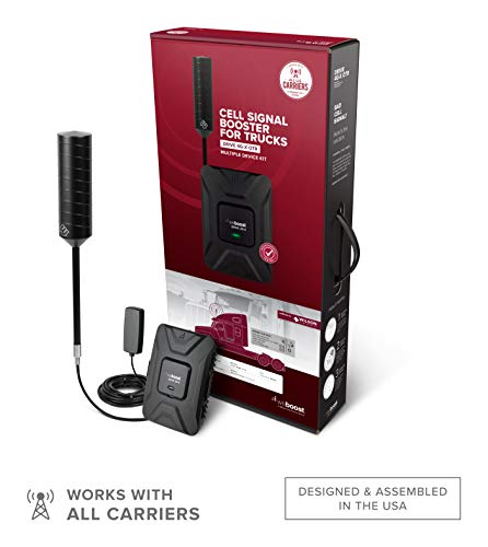 weBoost Drive 4G-X OTR (470210) Cell Phone Signal Booster Trucker Kit - Verizon, AT&T, T-Mobile, Sprint - Enhance Your Cell Phone Signal up to 32x