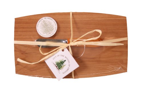 Oregon Pate Board - Out of the Woods of Oregon Pate Board with Maple Wood Spreader