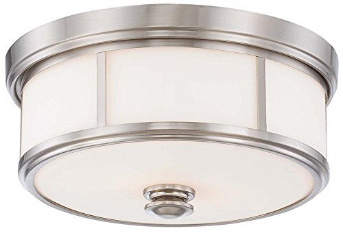 Minka Lavery 4365-84 Two Light Flush Mount