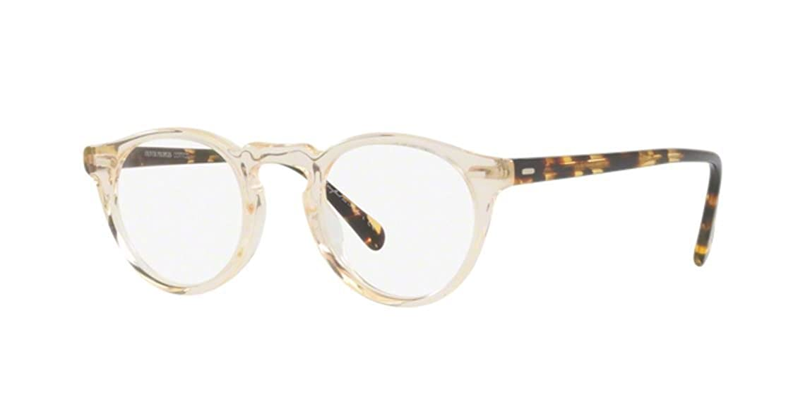 New Oliver Peoples OV 5186 1485 Buff Gregory Buff Eye Wear