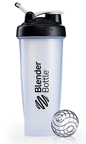 BlenderBottle Classic Loop Top Shaker Bottle, 32-Ounce, Clear/Black Review