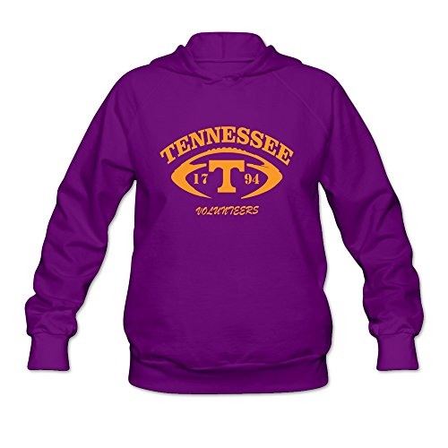 SOGA Women's Hoodies Tennessee Volunteers Football Size S Purple
