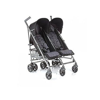 Be Cool - Silla de paseo gemelar club twin gris: Amazon.es: Bebé