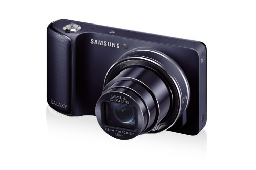 Samsung Galaxy Camera EK-GC100 8GB Black, Android OS, v4.1 (Jelly Bean) 3G Unlocked HSDPA 850 / 900 / 1900 / 2100 (International Version - No Warranty)