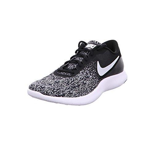 Nike Men's Flex Contact Running Shoes (Size 11.5 D(M) US, Black White)