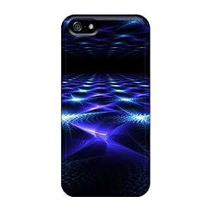 NicoleRStull Iphone 5/5s Well-designed Hard Case Cover Fractalblue Protector