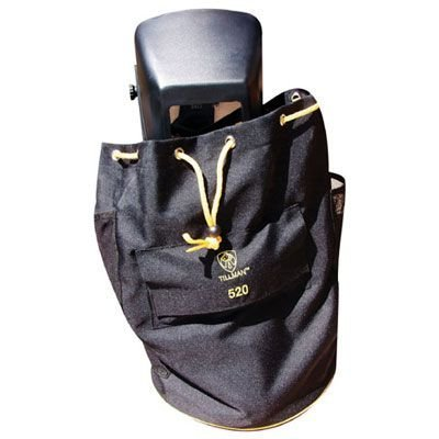Coated Polyester Helmet And Gear Bag With Pockets And Adjust