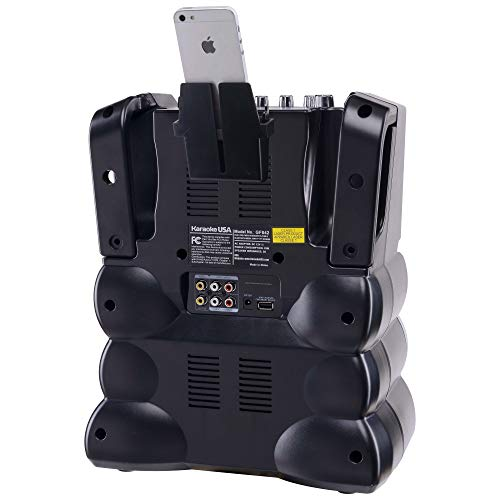 Karaoke GF842 DVD/CDG/MP3G Karaoke System with 7'' TFT Color Screen, Record, Bluetooth and LED Sync Lights by Karaoke USA (Image #11)