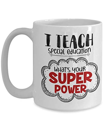 Special Ed Teacher Mug I Teach Special Education Teaching Assistant Gifts Coffee Cup
