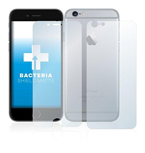 upscreen Bacteria Shield Matte Pellicola Protettiva Opaca per Apple iPhone 6 (Anteriore + Posteriore) Proteggi Schermo Antibatterica, Antiriflesso
