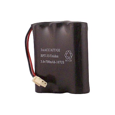Hitech - Replacement Cordless Phone Battery for Bell South MH9002, MH9110, and Many More MH9xxx series