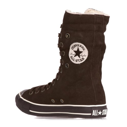 Converse CONVERSE Wildleder Winterstiefel Chuck Taylor Knee 111515 - Zapatillas de deporte de ante para hombre Marrón