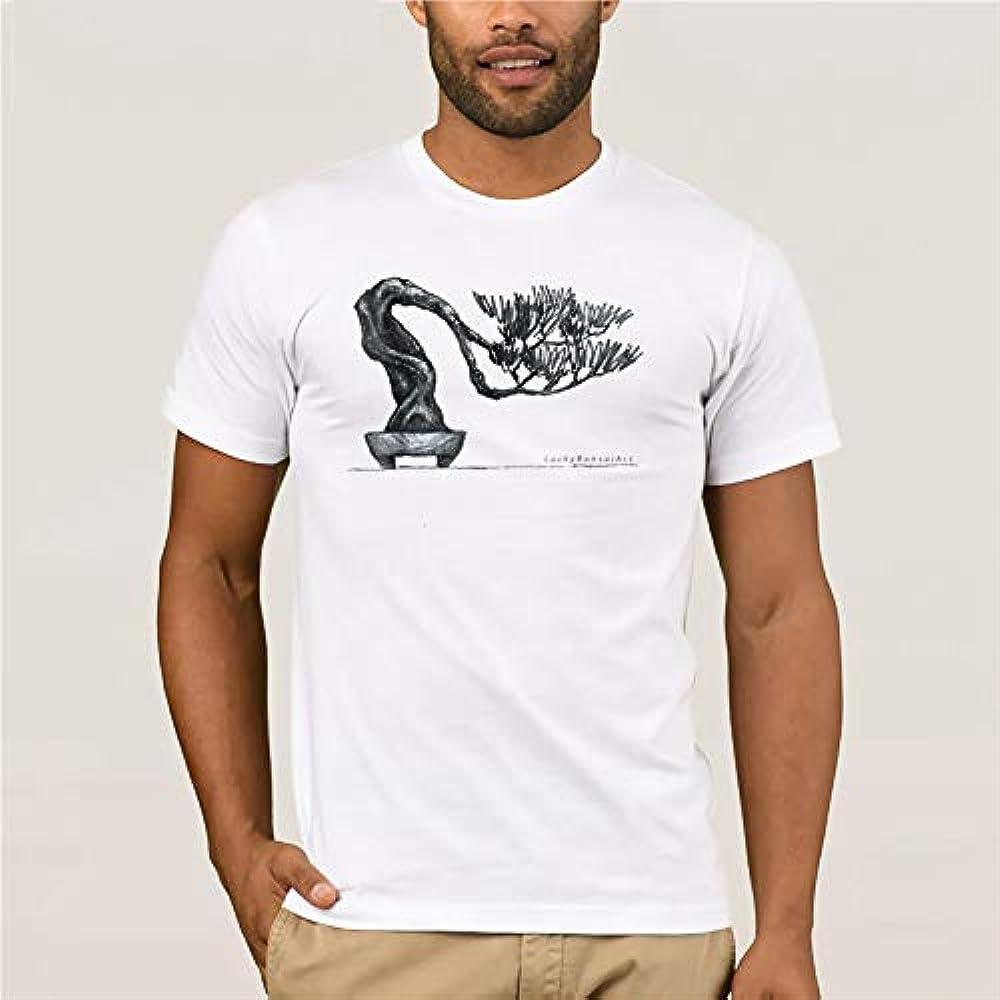 Camiseta para Hombre con diseño de árbol bonsái de 100% algodón ...