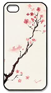 Cherry Blossom Painting Theme Iphone 5 5s Case by runtopwell