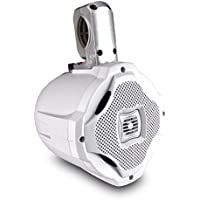 Lanzar AQWB65W 500 Watts 6.5-Inch 2-Way Marine Wake Board Speaker (White)