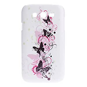 NEW Black Butterfly Pattern Noctilucent Hard Case for Samsung Galaxy I9080/I9082