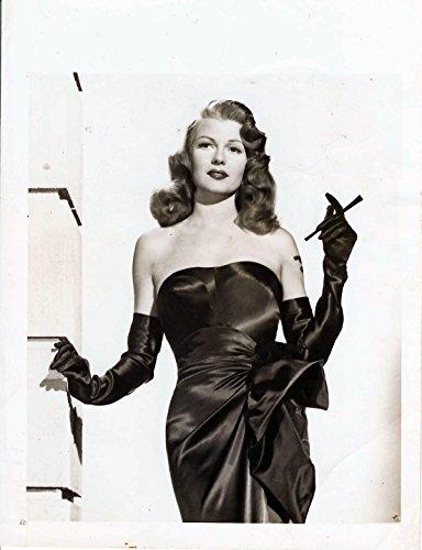 Noir Costume Film In (GILDA (1946) Vintage original 5x7 photo ft. Rita Hayworth in iconic pose,)