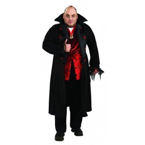 ROYAL VAMPIRE ADULT 44-52 (Scarlet Vampire Halloween Costume)