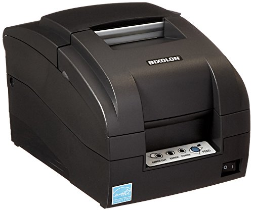 Bixolon SRP-275IIA Impact Receipt Printer with USB Interface, 5.1 lps Print Speed, 144 dpi Print Resolution, 2-1/2