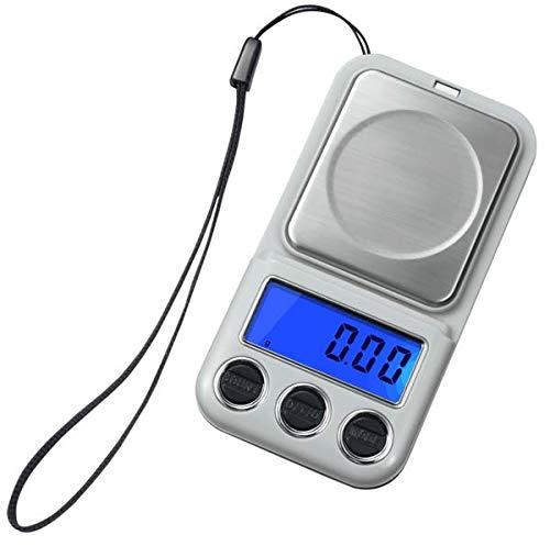 (Corpus Jewelry Pocket Digital Scale High Precision Mini Scale 100G/100G 0.01G Digital Scale Car Key Weigher 100g/0.01g ...)