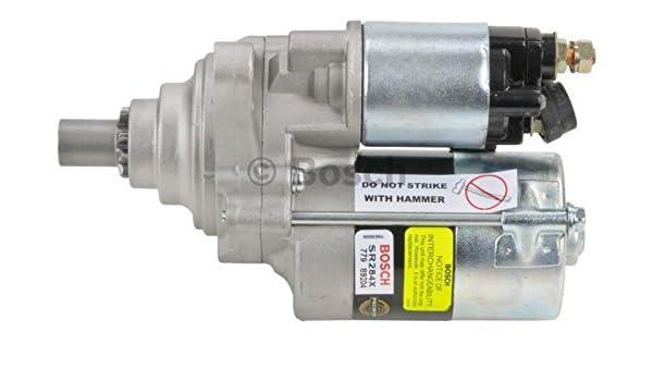 Starter Motor Bosch SR0809X Reman