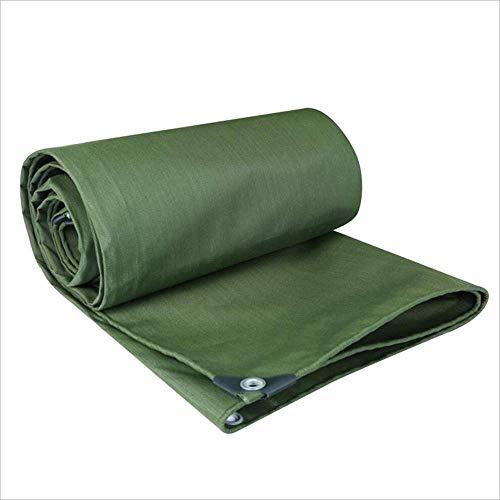 ZHULIAN Plane wasserdichtes Segeltuch, grüne regensichere Tuch-Boden-Blatt-Abdeckungen für im Freienabdeckung Bauernhof Camping Lager-Segeltuch