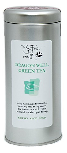 Gourmet Loose Leaf Teas  Green   Dragon Well  By The Fine Life