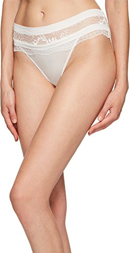 La Perla Women's Topaz Medium Brief Off-White Large (La Perla Nylon Briefs)