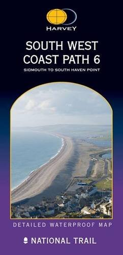 - South West Coast Path 6: Sidmouth to South Haven Point (Route Map)