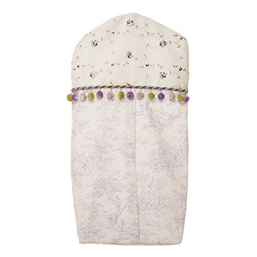 Glenna Jean Penelope Diaper Stacker, Lavender/Mint/White