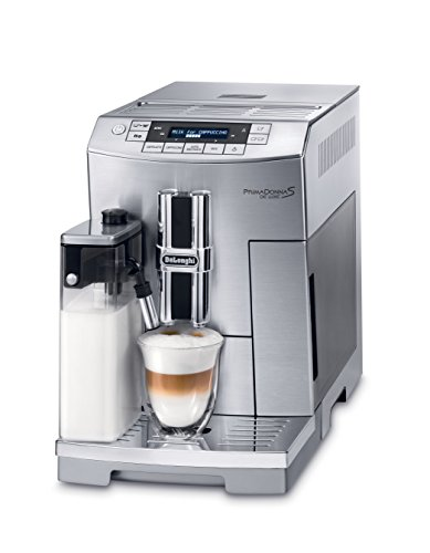 DeLonghi ECAM26455M Prima Donna S DeLuxe Super Automatic Espresso Machine (Certified Refurbished)