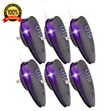 WAYNE PRODUCTS LTD Ultrasonic Pest Repeller (6 Pack) 2018 Upgrade Plug in Pest Control Insect Repellent Rats Mice Ticks Cockroach Ants Fly Moths Termites Spiders Fleas Human Pet Safe Non Toxic