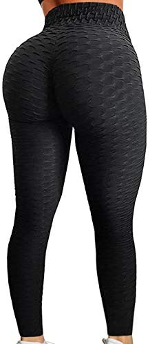 AGROSTE Control Stretchy Leggings Textured product image