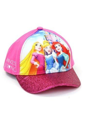 Girl Cartoon Character (Disney Little Girls Princess Character 3D Pop Cap, Rapunzel, Cinderella, Ariel Princesses, Age 4-7)