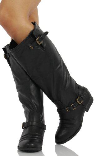 Soda Nakia Womens Classic Riding Boots