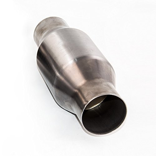 maXpeedingrods Universal 2 5 Inch Catalytic Converter High Flow