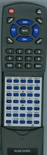 NEC Replacement Remote Control for MULTISYNC V551, V422, MULTISYNC P701
