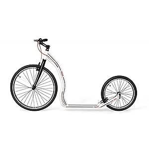 Yedoo Patinete/Roller trexx 26/20 blanco cuerpo de aluminio ...