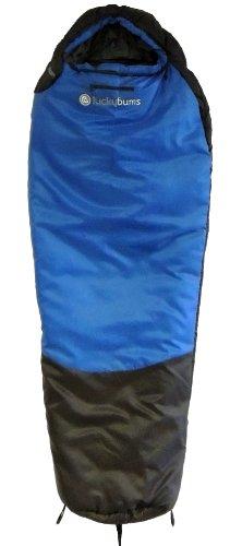 Lucky Bums Serenity 10° Sleeping Bag (Blue, 64-Inch), Outdoor Stuffs