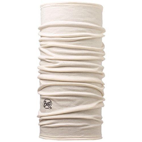 BUFF Unisex Lightweight Merino Wool, Snow, OSFM from Buff