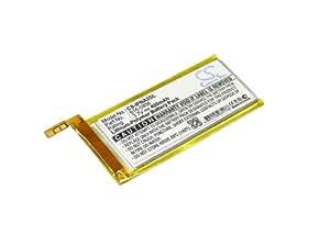 Batería para Apple iPod Nano 5th, 3.7V, 400mAh, Li-PL