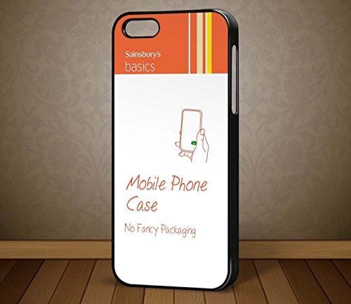 Sainsburys Basics Funny ironique Quirky Étui pour téléphone portable pour iPhone, Samsung, HTC, Nokia (Galaxy S5Blanc)