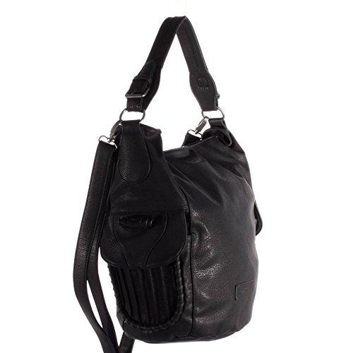 Fritzi aus Preußen Bea Kuba Shopper Tasche 40 cm Black-be